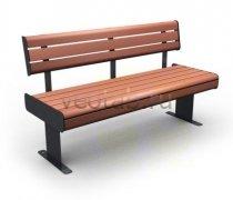 Садовая скамейка #00029