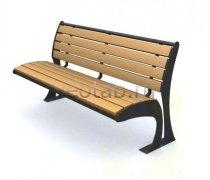 Садовая скамейка #00063
