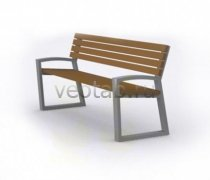 Садовая скамейка #00027