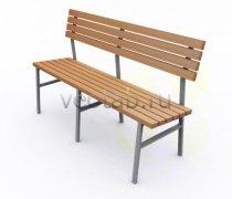Садовая скамейка #00025