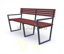 Садовая скамейка #00022