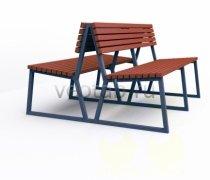 Садовая скамейка #00021