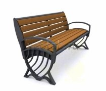 Садовая скамейка #00062