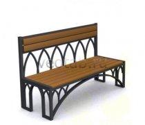 Садовая скамейка #00061