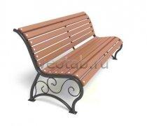 Садовая скамейка #00018