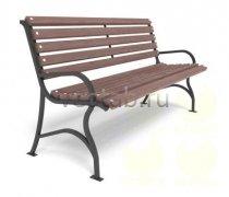 Садовая скамейка #00016