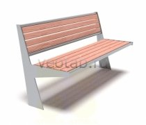 Садовая скамейка #00012