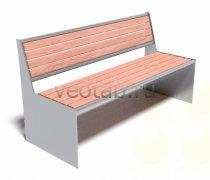 Садовая скамейка #00010