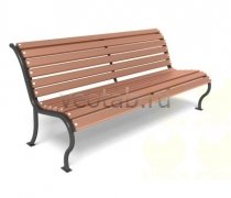 Садовая скамейка #00009