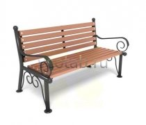 Садовая скамейка #00008