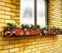 Кованные решетки на окна #11
