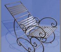 Кованые кресла-качалки #38