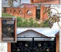Ворота кованые #010