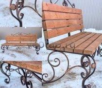 Садовая скамейка #00127