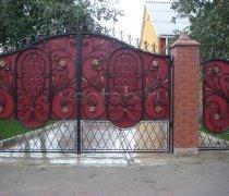 Ворота кованые #035