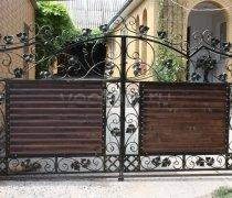 Ворота кованые #037