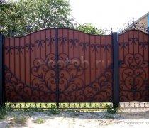 Ворота распашные  #32