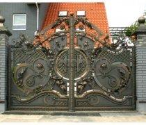 Ворота кованые #036