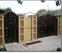 Ворота кованые #033