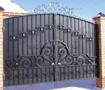 Ворота распашные #017