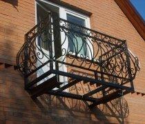 Кованые балконы #40