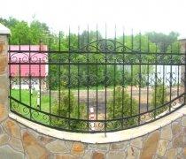 Забор кованый #0037