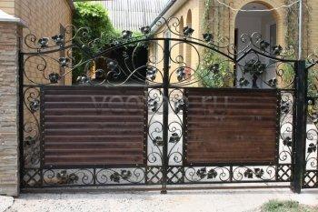 Ворота кованые #37