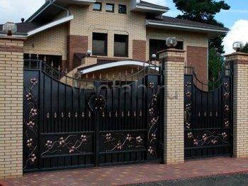 Ворота кованые #079