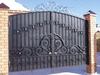 Ворота распашные  #30