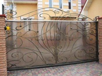 Ворота кованые #038