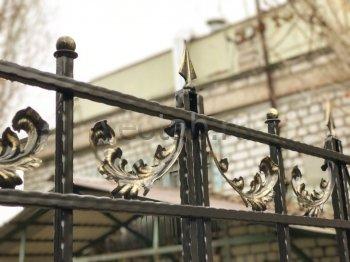 Забор кованый #0012