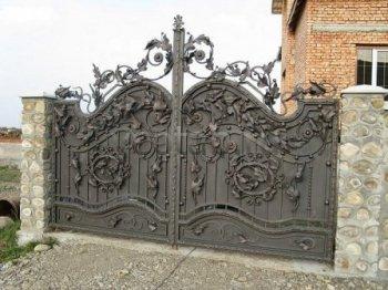 Ворота кованые #039