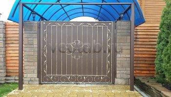 Ворота распашные #019