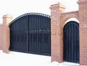 Ворота распашные #018