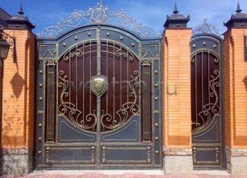 Ворота кованые #080