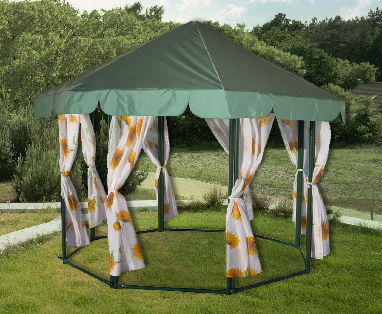 Беседка шатер фото